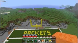 Minecraft nfl stadium project - part 2