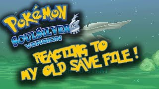 Reacting To My Old Pokemon Soul Silver Game!