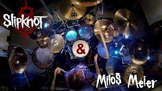 Miloš Meier - SLIPKNOT - Psychosocial + DRUM SOLO (Drum Cover)