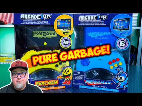 Arcade1Up Mega Man & Pac-Man Collection HDMI Plug & Play Consoles! Straight Up Garbage Even Hacked! from Madlittlepixel