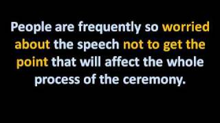 Your Guide To Wedding Speeches     Best Man Wedding Speeches     Instant Wedding Speeches