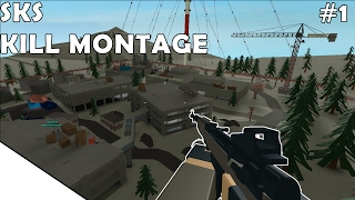 ROBLOX PHANTOM FORCES - SKS KILL MONTAGE #1