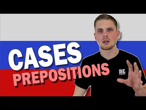 Preposition + Case Pairs | Russian Language