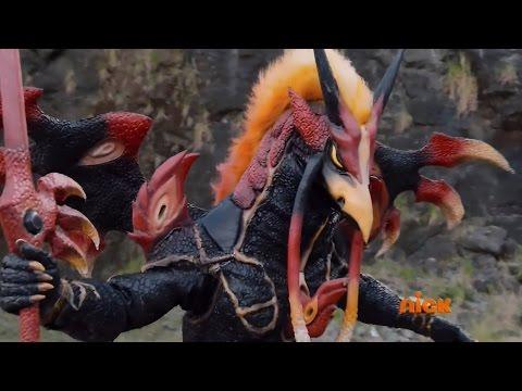 Power Rangers Dino Super Charge - Silver Secret - Silver Ranger vs Red Ranger (Episode 14)