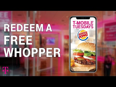 How To Redeem a FREE Item at Burger King | T-Mobile Tuesdays