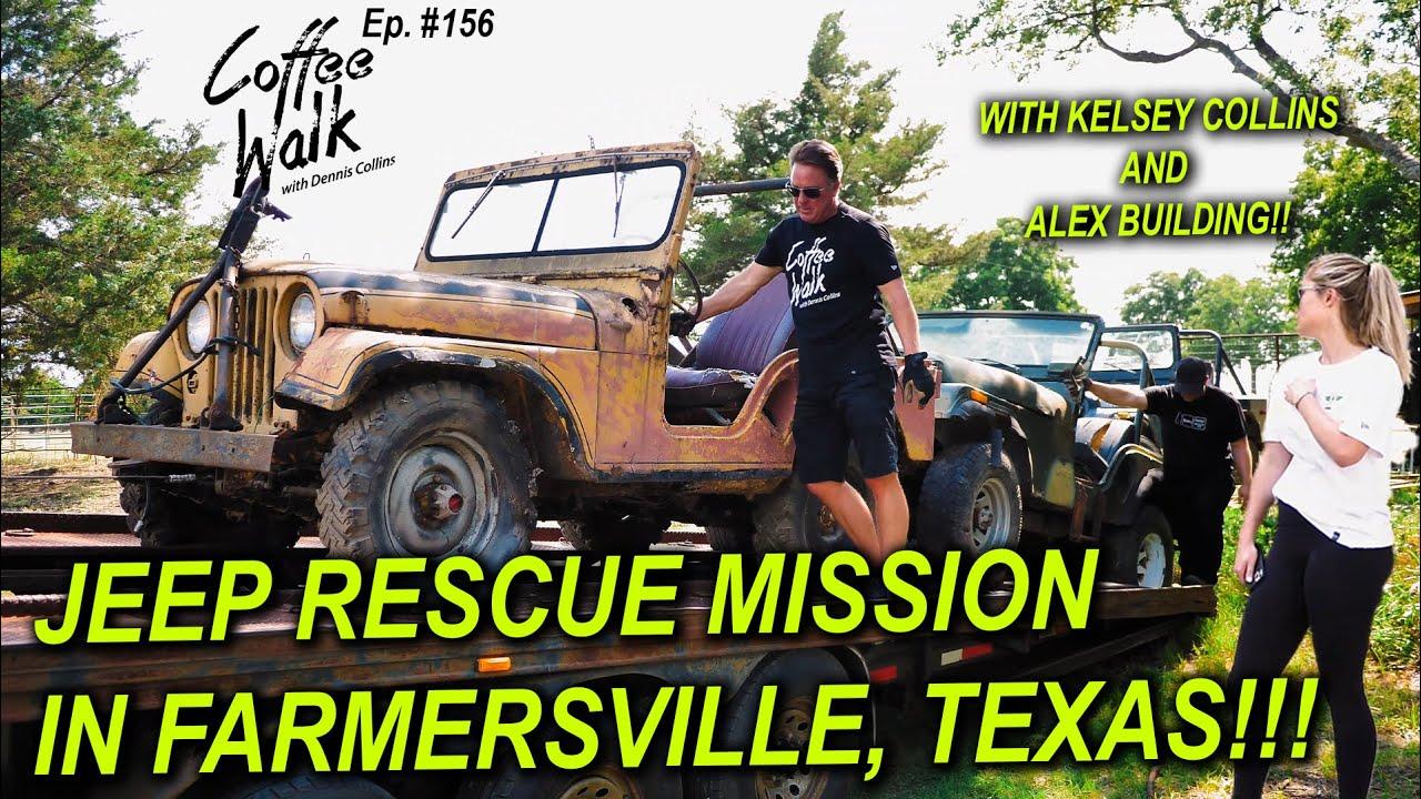 JEEP RESCUE MISSION in Farmersville, Texas!!