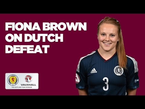 Netherlands WU19 3-2 Scotland WU19 // Fiona Brown Reaction