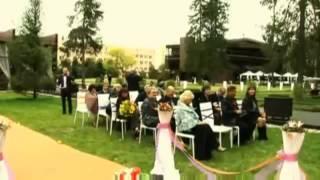Свадьба Выездная церемония в европейском стиле