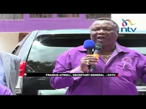 Atwoli says Labour Act amendment proposals contravene the law