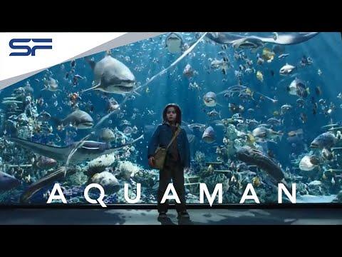 ตัวอย่าง Aquaman อควาแมน เจ้าสมุทร   Official Trailer 1 (ซับไทย)