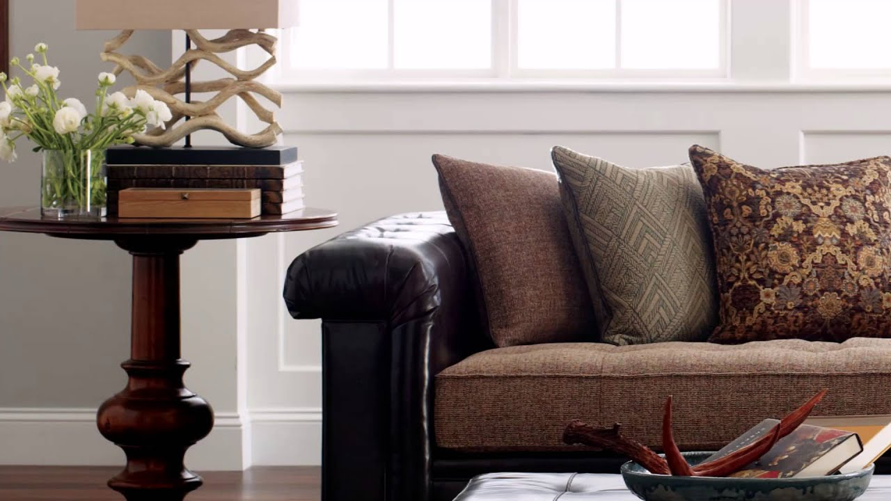 Stickley Chicago sofa - YouTube