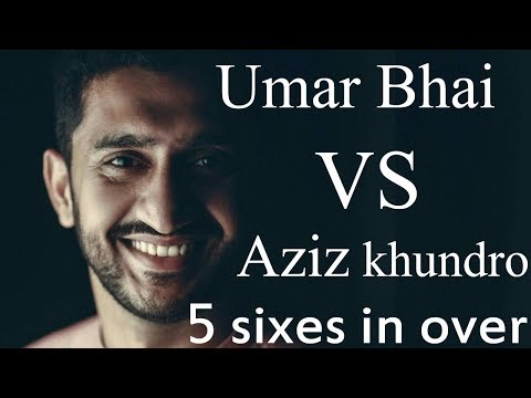 Umar Bhai VS Aziz khundro || 5 sixes in 1 over || Sanghar Tournament || Finale ||  SALMAN SPORTS