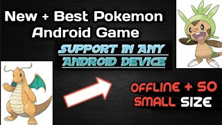 New ! offline Pokemon Android game 2018 ||