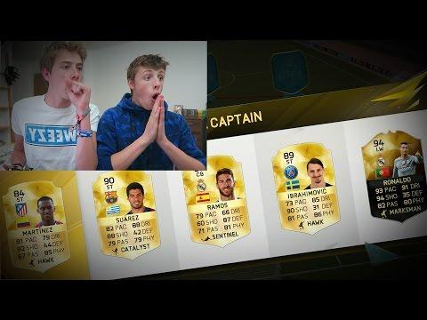 FIFA 16 -  INSANE 2 PLAYER FUT DRAFT!! - FIFA 16 ULTIMATE TEAM