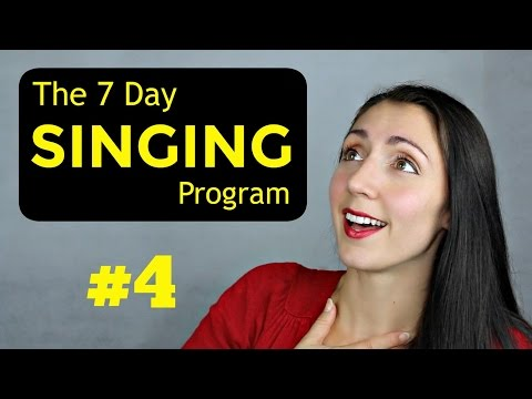 VOCAL STRENGTH: Day 4 Weekly SINGING EXERCISE Program