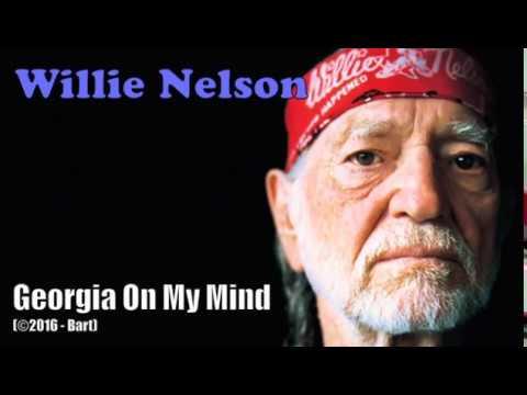 Willie Nelson - Georgia On My Mind (Karaoke)