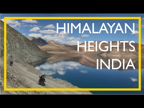 Himalayan Motorcycle Ride - Amazing 4k Drone Footage