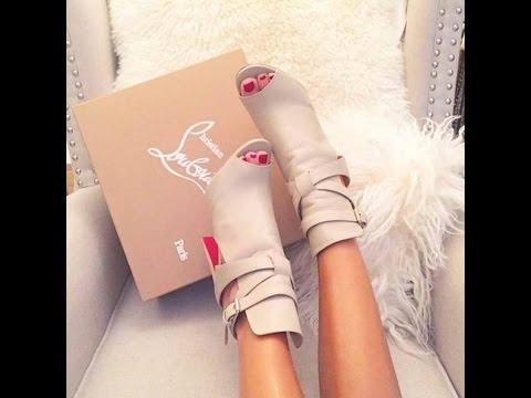 С чем носить женские туфли с открытым носом, можно ли