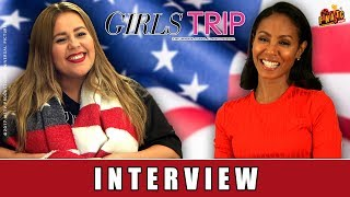 Girls Trip - Interview | Jada Pinkett Smith | Vivien Albeck