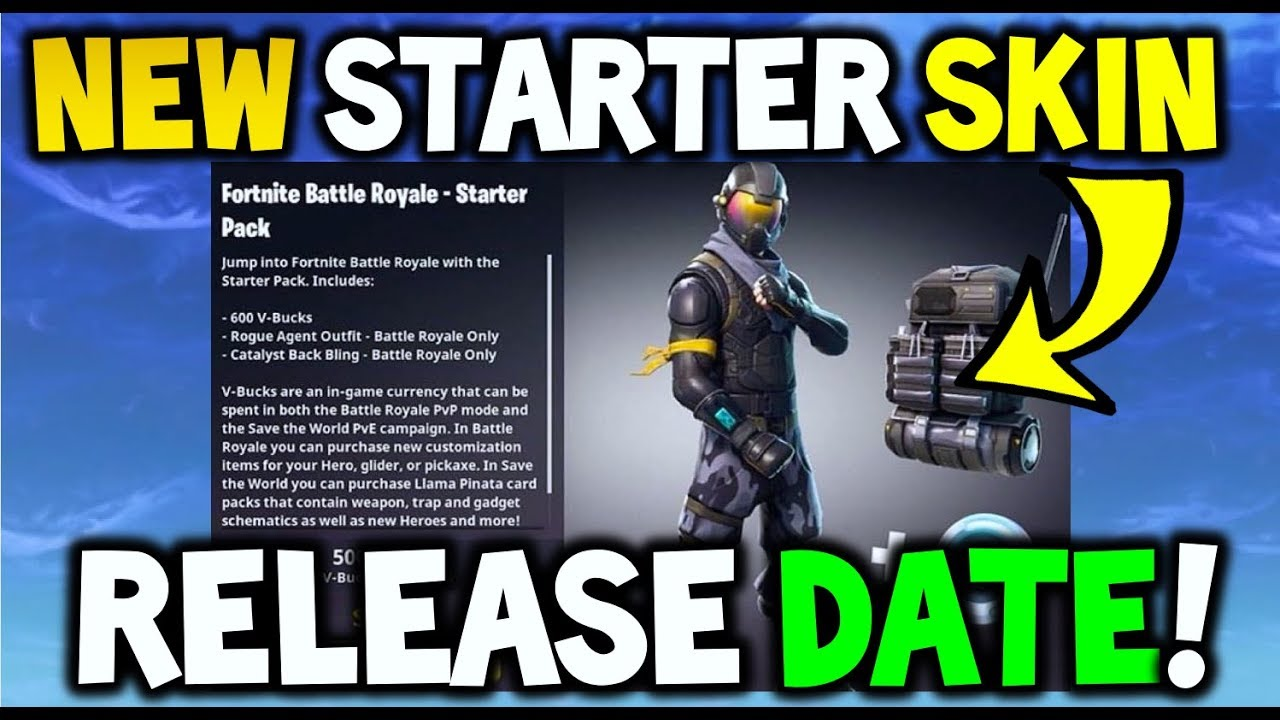 How Much Is A New Starter >> Fortnite New Starter Pack Skin Release Date Price How To Get The Not Free Starter Pack