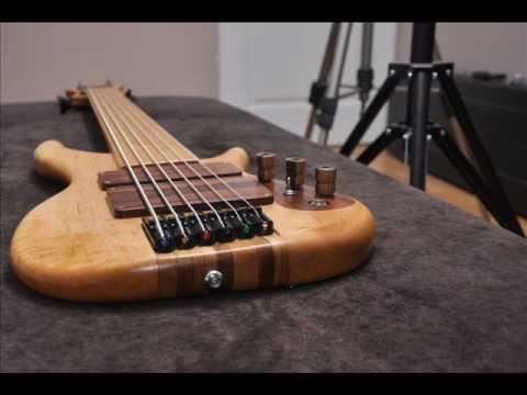 sound test of my 6 string fretless bass guitar youtube. Black Bedroom Furniture Sets. Home Design Ideas