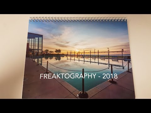2018 freaktography wall calendars for sale