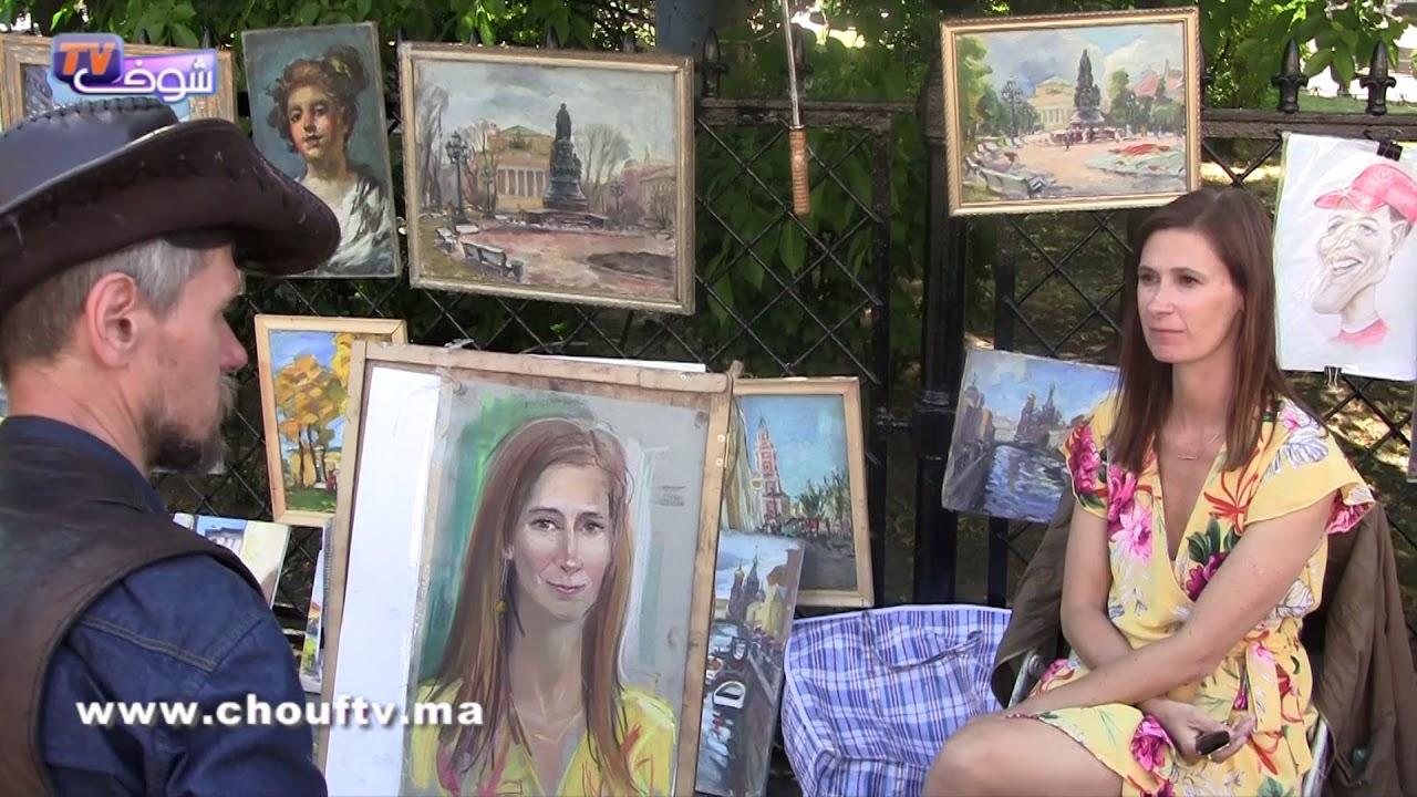 شوفو جمالية مدينة سان بطيرسبورغ الروسية 