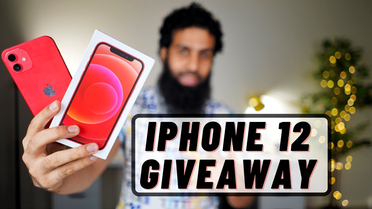 Download iPhone 12 Giveaway   Big Surprise for you