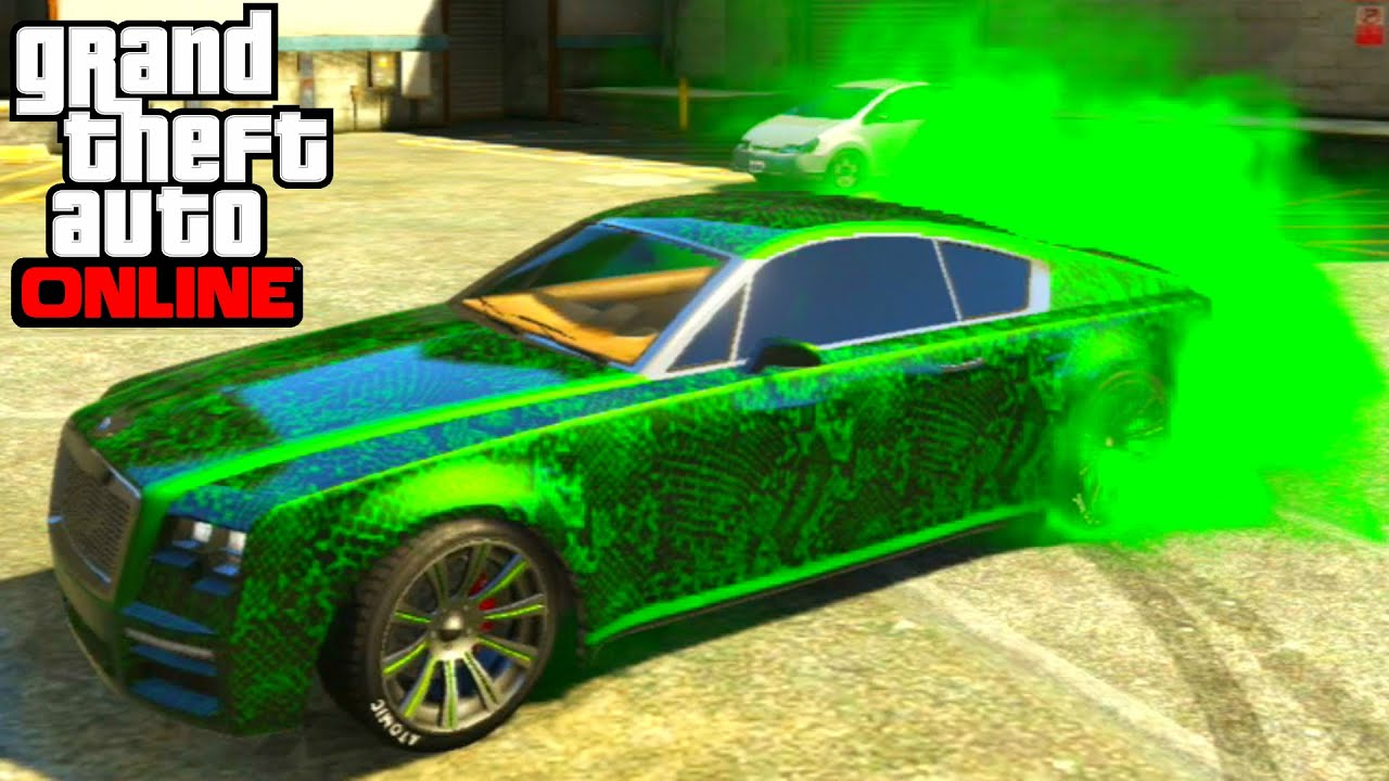 Gta 5 Online Enus Windsor Full Customization Paint Job