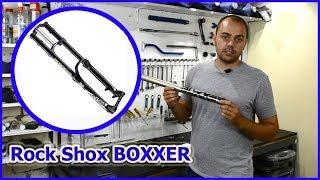 Rock Shox BOXXER КАК обслужить вилку.