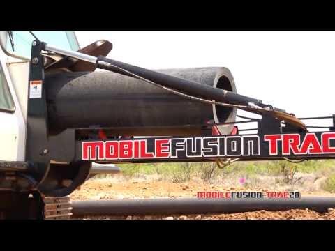 Fast Fusion - Mobile Automated Polyethylene Pipe Fusion