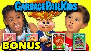 Kids React to Garbage Pail Kids (Bonus #146)