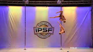 Svetlana Nikonova Ekaterina Abramova - IPSF World Pole Championships 2018