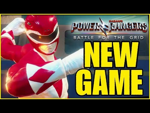 New Power Rangers Game NOT a PORT! (Power Rangers Battle For the Grid)