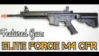 Best Starting Airsoft Gun? Elite Force M4 CFR at Fox Airsoft
