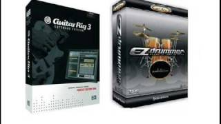 Ezdrummer and guitar rig 3 test
