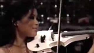 Vanessa-Mae plays Classical Gas Raggae