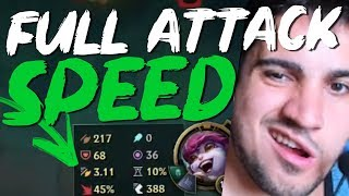 TRISTANA JUNGLE FULL ATTACK SPEED É IMORAL!
