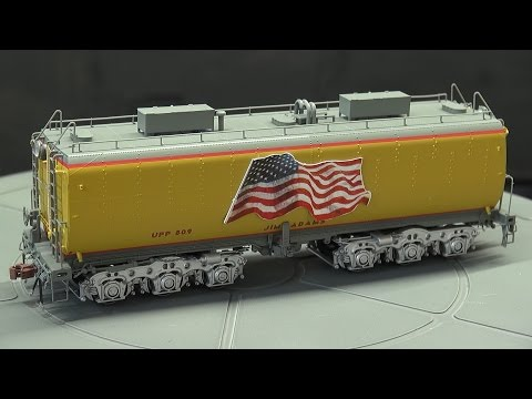 Review: Scale Trains UP Steam Excursion Water Tender Set HO Scale Post 2006