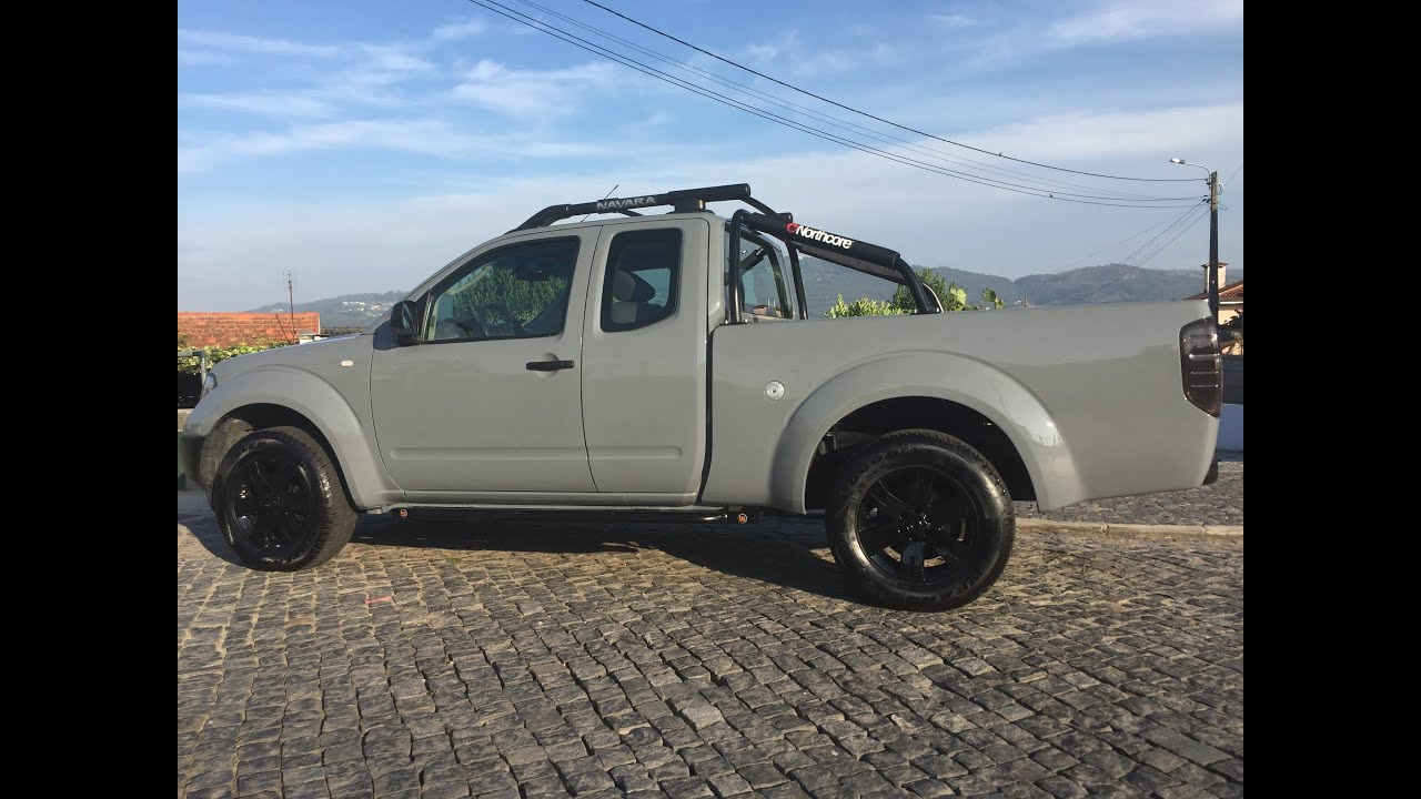 Nissan Navara D40 Mods Youtube