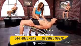 Rock Gym 6 in 1 Total Body Trainer