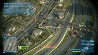 Battlefield 3 Armored Kill AC-130 GUNSHIP ACTION