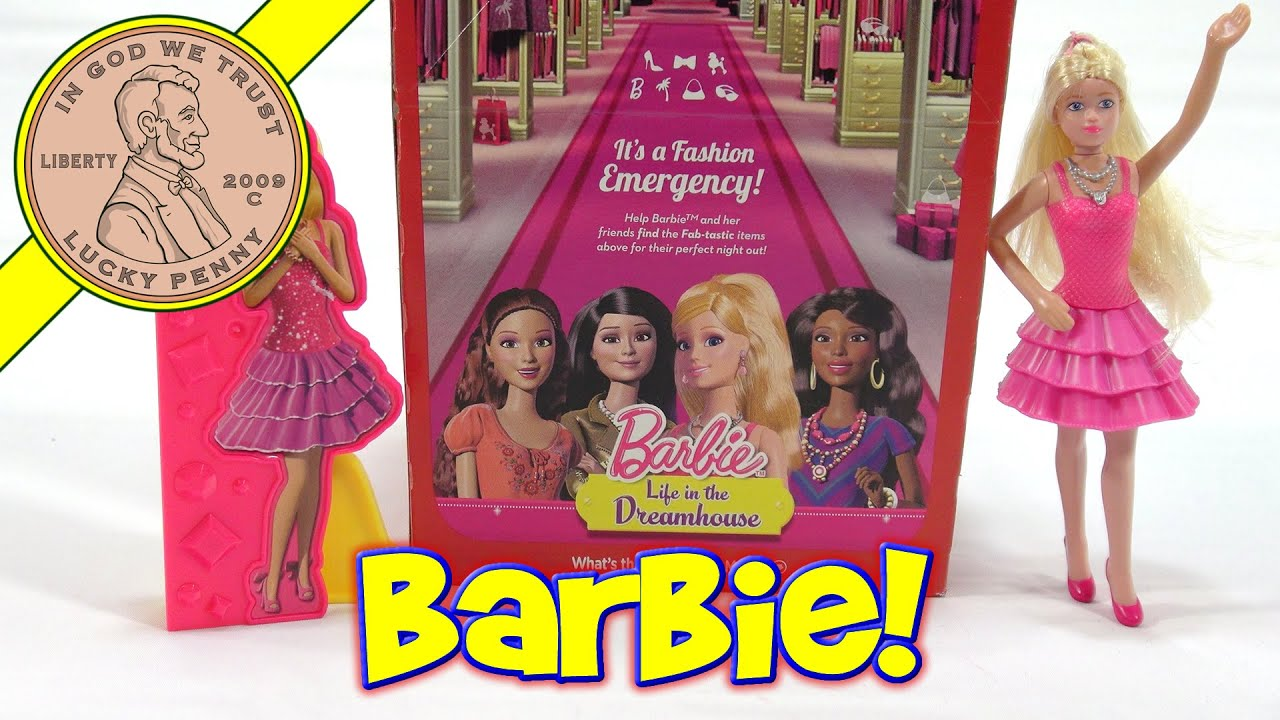 Barbie Life In The Dreamhouse, 2014 McDonaldu0027s Happy Meal Toys   YouTube