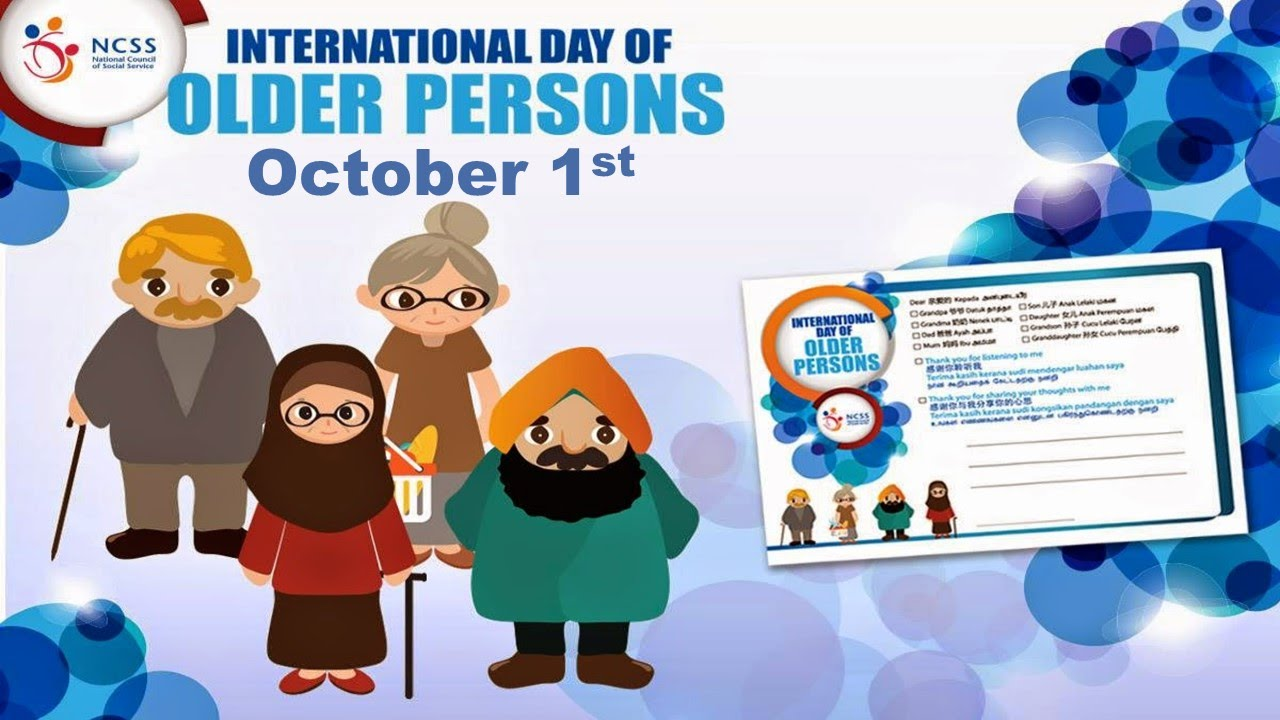 International Day of Older Persons - YouTube