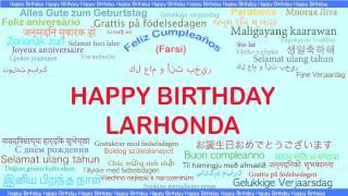 LaRhonda   Languages Idiomas - Happy Birthday