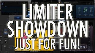 LIMITER SHOWDOWN - JUST FOR FUN! - Adaptive Limiter vs. L1 vs. Pro-L vs. Sausage Fattener