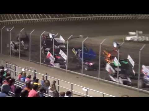 Sprint Invaders Season Championship feature 34 Raceway 9/27/14