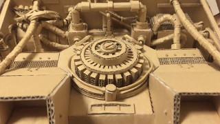 【Cardboard Derolian】 ダンボールデロリアンを作ってみました! 大野萌 検索動画 25