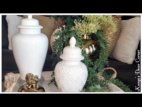 A to Z Home Decor Collab | How  To Decorate with Ginger Jars | How To Accessorize thumbnail