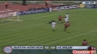 vuclip Highlights Bayern Munich 1-2 AC Milan - 1/10/2002